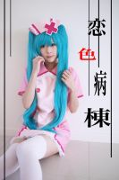 Love Ward : Hatsune Miku by kaguyaxhime