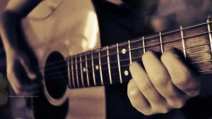 While my guitar gently weeps by Manarelamrani