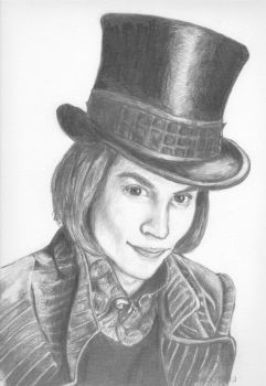 Willy Wonka by Penguinton