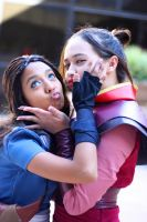 Katara and Azula by miss-hina