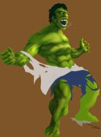 HULK OUT by KevinHarrell