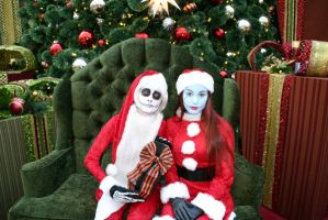 Jack and Sally- Scary Christmas! by Izin