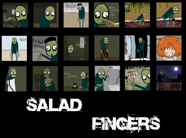 Salad Fingers Icons by MorePain