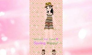 Mature Yet Cute! Spring Hippy! by pink14ify