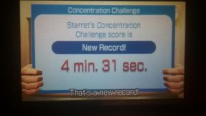 concentration challenge new record four and a half by Keyotea