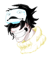 Zacharie Pixel Head by Katsumera