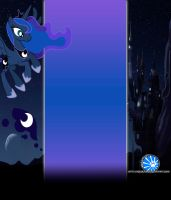 Luna Youtube Template by NekoKawaii11