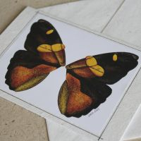 Butterfly greeting card 01 by fatboygotsick