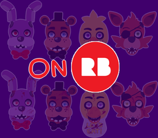 FNAF stickers NOW UP FOR SALE by Seragakii
