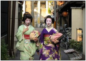 Geisha girls 2 by Sparklepixie