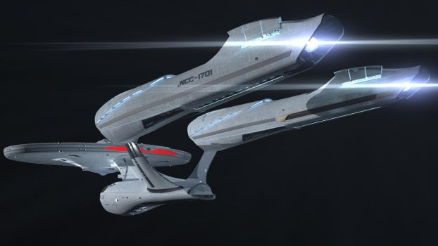 Enterprise (post STID) 3 by The-Didact