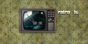 retro tv by phantommenace2020