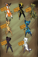 Antrho adoptables 5 OPEN by creative-adoptions