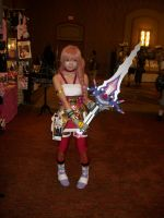 Animefest '12 - Sword Girl by TexConChaser