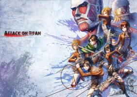 Attack on Titan by Takos000