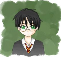 Harry Potter by Kiz-Chan by Hogwarts-Castle