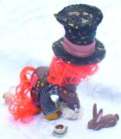 2010 Mad Hatter Custom Pony 2 by mayanbutterfly