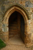 Doorway-Castle-Battle by NickiStock