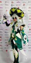 PSO2 cosplay Force by ArisRUS