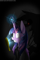 Silly curious Twilight... by AlenD-nyan