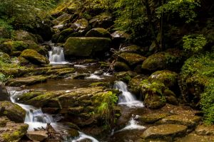 Glen Lyn Gorge III by lordradi