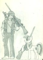 I Told You Snipin' Was A Good Job by lostwolfen