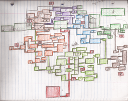 Projest ESTATE - World Map Sketch by sonicbommer