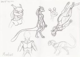 Concept Art For Mewtwo by ITAFTRS