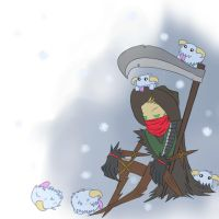 Fiddlesticks with Poros by SkitzOpheliac