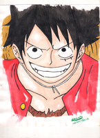Monkey D. Luffy by GrendM