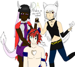 Deviants and an OC by sonicnshadow321