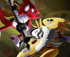 Shoutmon Attacks! by Dogwhitesector
