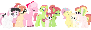 Universe A - Flutterhugger Family by magicalgirlfriends