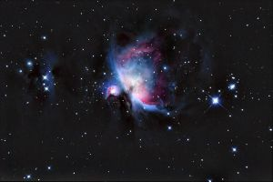 The Great Orion Nebula.. by S-e-n-t-e-n-z-a