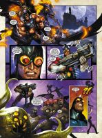 EL ZOMBO, SHARKY and MR MONSTER pg 3 DAVE WILKINS by DeevElliott