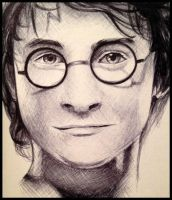 Harry Potter - Ballpoint Pen by ShadowSeason