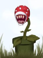 Piranha plant by S1ghtly