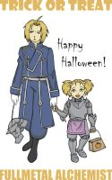 FMA - Trick or Treat by RosesAndThorns