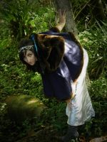 stock peeking out by Angiepureheart