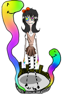 The boring RAINBOW WOMAAN by rubyrainydays