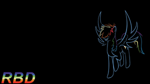 Rainbow Dash Wallpaper by Wreky