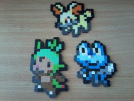 Pokemon X Y Starters by DisasterExe
