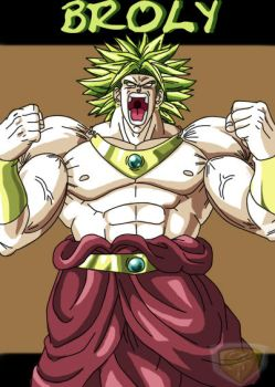 Broly poster by ShynTheTruth
