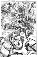 Hellboy pencil page example 4 by pmason83