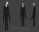 Slenderman by tifu