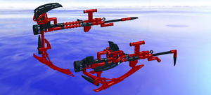 LDD Crescent Rose - Scythe and Sniper Modes by KZN02