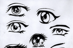 Anime Eyes by animelover4482