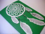 Dream Catcher Card #1 (Hand-Made) by TheInnerCat