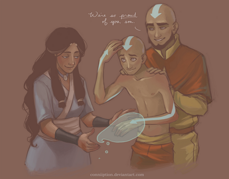 Tenzin's Tatts by conniiption