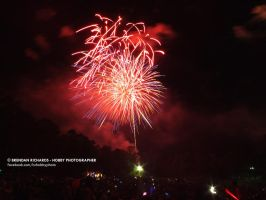 Australia Day 2014 - Full of fireworks 01 by BrendanR85